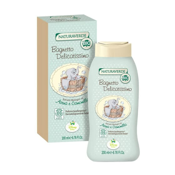 GEL BAÑO DELICADO DUMBO BIO 200ml de Naturaverde