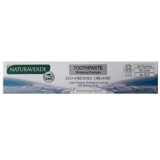 GEL DENTÍFRICO BRANQUEADOR ECO 75ml de Naturaverde
