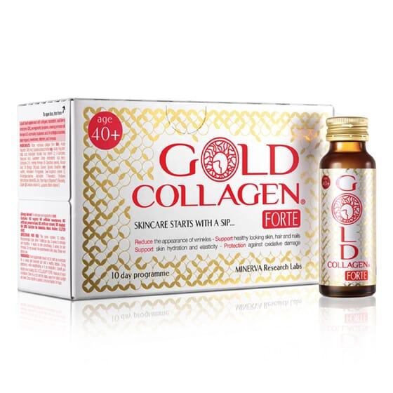 GOLD COLLAGEN FORTE 10 Viales de 50ml