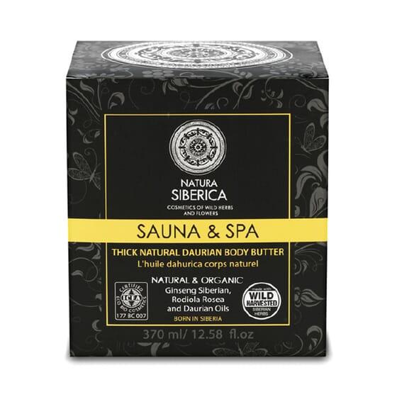 SAUNA & SPA ACEITE DAÚRICO CORPORAL 370 ml de Natura Siberica