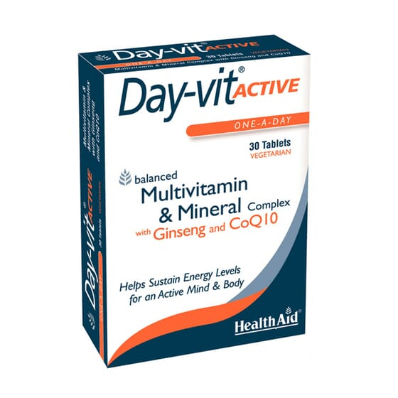 DAY-VIT ACTIVE 30 Tabs de Health Aid