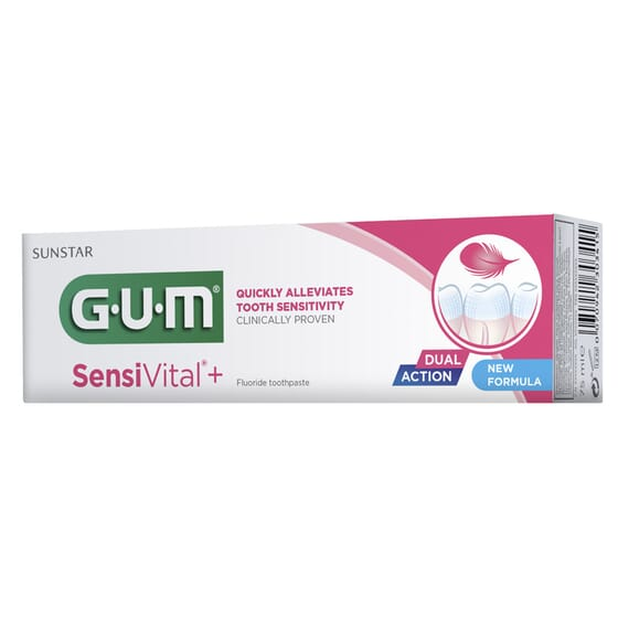 GUM SENSIVITAL+ GEL DENTAL 75ml