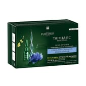 TRIPHASIC REACTIONNEL TRATAMENTO ANTIQUEDA REACIONAL12 Frascos de 5ml da Rene Furterer