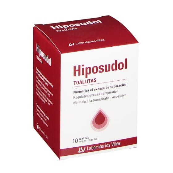 HIPOSUDOL TOALLITAS 10 Uds de Hiposudol