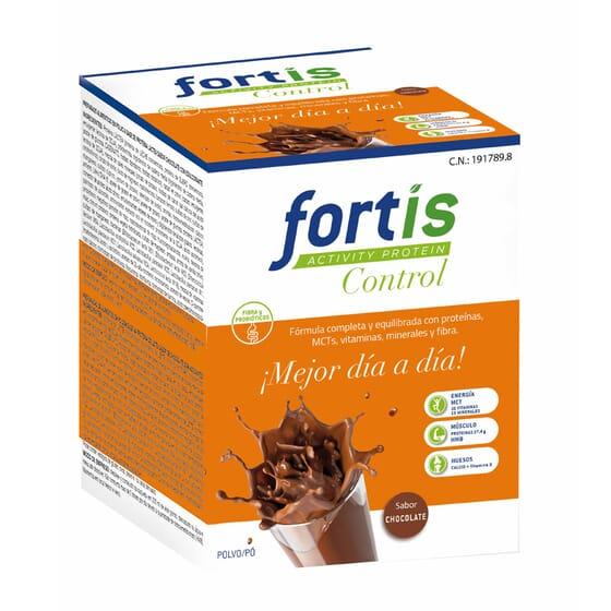 FORTIS ACTIVITY PROTEIN CONTROL CHOCOLATE 7 Sobres de 57g