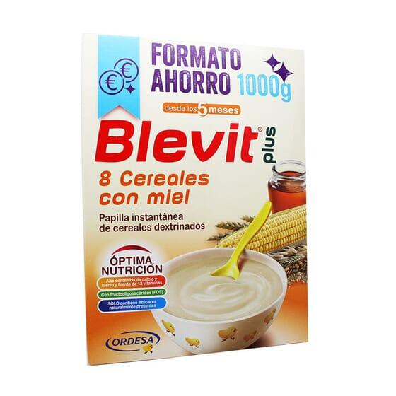 BLEVIT PLUS 8 CEREALES CON MIEL NUEVA FÓRMULA FORMATO AHORRO 1000g