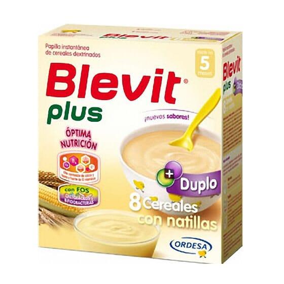 BLEVIT PLUS 8 CEREALES CON NATILLAS 600g