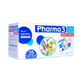 PHARMA 3 DIET & DETOX 25 Infusiones de Bio3.