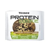 PROTEIN COOKIES CARAMEL CHOCO FUDGE 1 Galleta de 90g de Weider.