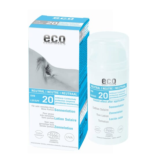 PROTETOR SOLAR NEUTRAL SPF20 100ml da Eco Cosmetics.