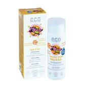 PROTETOR SOLAR BEBÉ E CRIANÇAS ECO SPF50+ 50ml da Eco Cosmetics.
