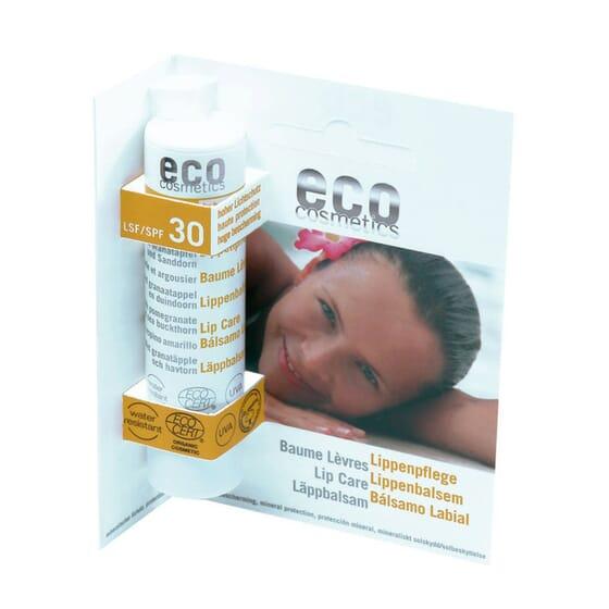 BÁLSAMO LABIAL EM STICK ECO SPF30 4g da Eco Cosmetics