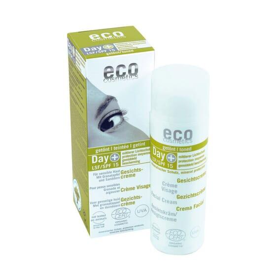CREME FACIAL COM UM TOQUE DE COR SPF15 50ml da Eco Cosmetics.