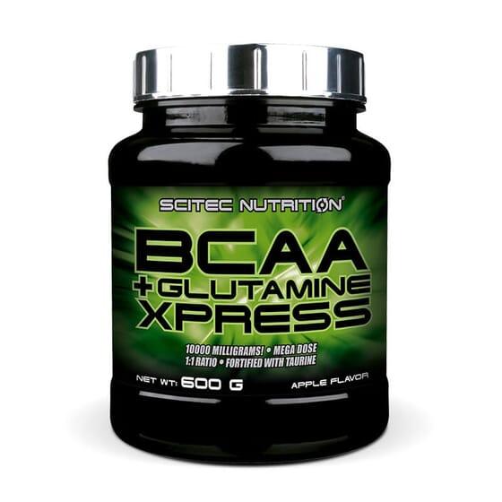 BCAA + Glutamine contribue au développement et à l'entretien de la masse musculaire.