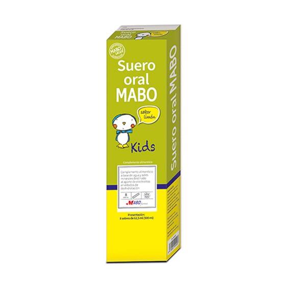 SORO ORAL MARINHO KIDS LARANJA 8 Saquetas de 62,5ml da Mabo Oral