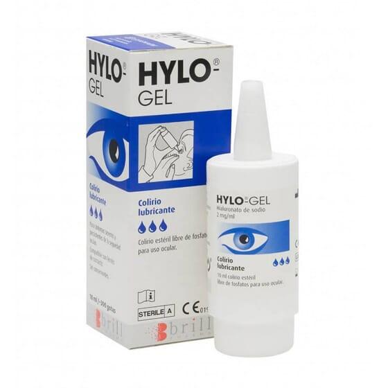HYLO GEL COLLYRE LUBRIFIANT 10 ml Brill Pharma