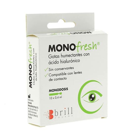 MONOFRESH GOUTTES 10 U de 0,4 ml Brill Pharma