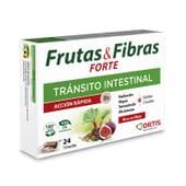 FRUTAS & FIBRAS FORTE AÇÃO RÁPIDA 24 Cubos da Ortis.