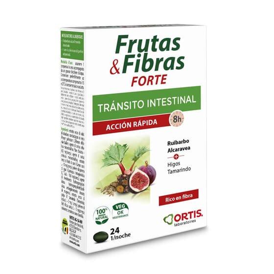FRUTAS & FIBRAS FORTE AÇÃO RÁPIDA 24 Tabs da Ortis.