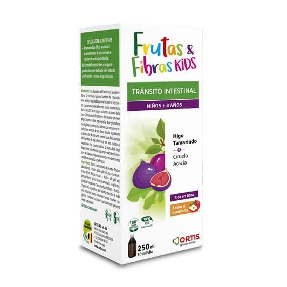 FRUTAS & FIBRAS KIDS 250ml da Ortis.