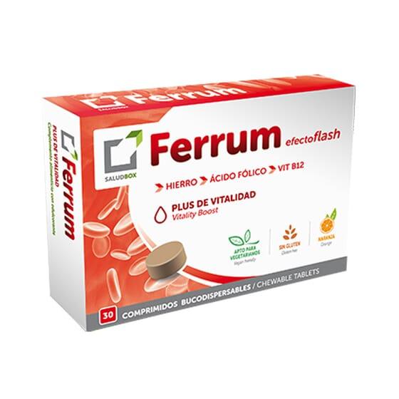 SALUDBOX FERRUM 30 Tabs Mastigáveis