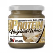PROTEIN HAZELNUT WHITE CHOCOLATE 250g de Beverly Nutrition.
