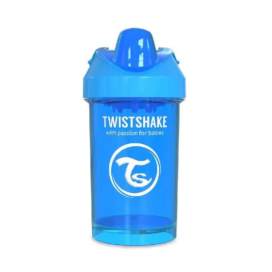COPO DE APRENDIZAGEM CRAWLER CUP 8+M Azul 300ml da Twistshake