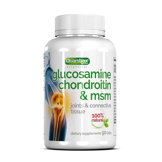 Glucosamine, Chondroïtine & MSM protège vos articulations.