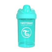 Bicchiere Apprendimento Crawler Cup 8+M Turchese 300 ml di Twistshake