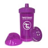 BICCHIERE APPRENDIMENTO KID CUP 12+M VIOLA 360 ml de Twistshake