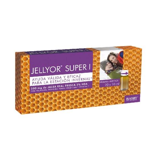 Jellyor Super I 10 ml 20 Frascos da Eladiet