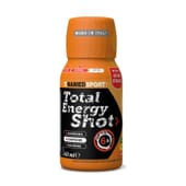TOTAL ENERGY SHOT 25 Frascos de 60ml da Namedsport.