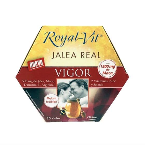 JALEA REAL ROYAL VIT VIGOR 20 Viales de 10ml de Dietisa