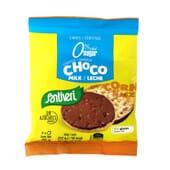 TORTITAS DE MILHO COM CHOCOLATE E LEITE 25 g 2 Unds da Santiveri