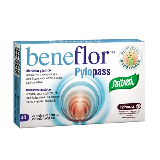 BENEFLOR PYLOPASS 40 VCaps de Santiveri.