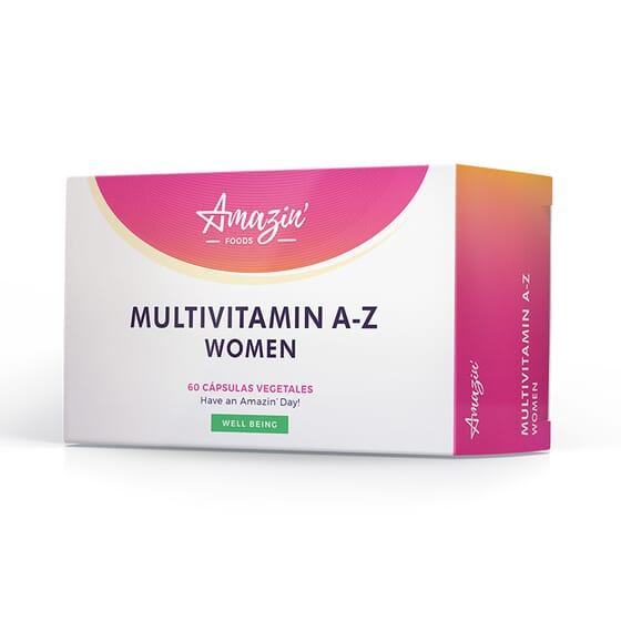 MULTIVITAMIN A-Z WOMEN 60 VCaps Amazin' Foods