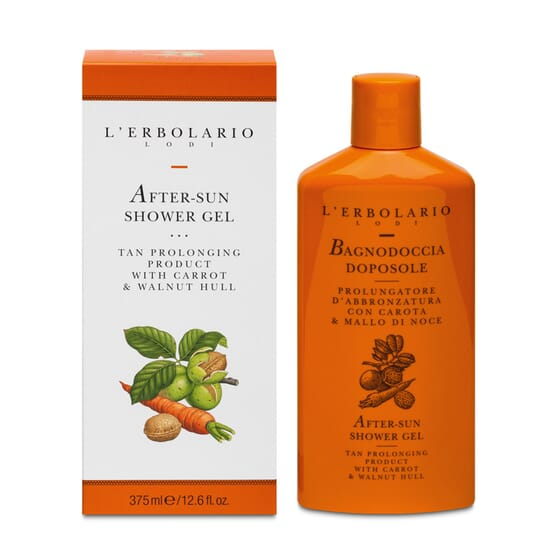 GEL BANHO AFTERSUN PROLONGADOR DO BRONZEADO 375ml da L'Erbolario.