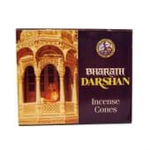 Incenso Cones Bharath Darshan 20 Un da Sac