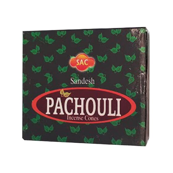 INCENSO CONES PATCHOULI 20 Unds da Sac