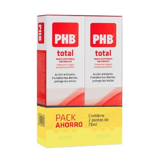 PHB PACK PASTA TOTAL 2Unids de 75ml