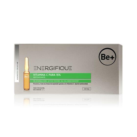 BE+ ENERGIFIQUE VITAMINA C PURA 15% 10 x 2 ml de BE+