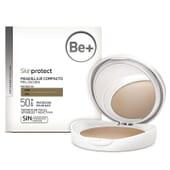 Skinprotect Fondotinta Compatto Pelli Scure SPF 50+ di BE+