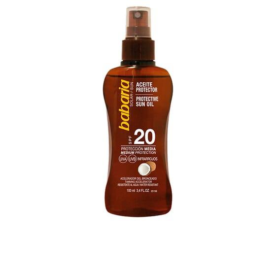 Óleo Protetor Coco SPF20 100 ml da Babaria