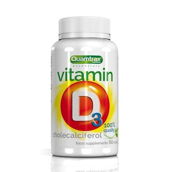 VITAMINA D3 60 Caps da Quamtrax Essentials