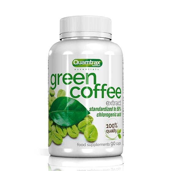 GREEN COFFEE EXTRACT 90 Gélules Quamtrax Essentials