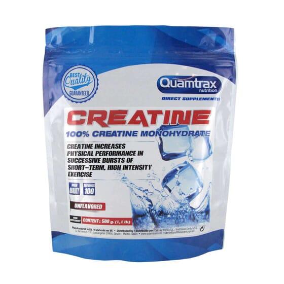 100 % MONOHYDRATE DE CRÉATINE 500 g de Quamtrax Direct.