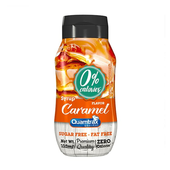 SYRUP CARAMEL 330 ml Quamtrax