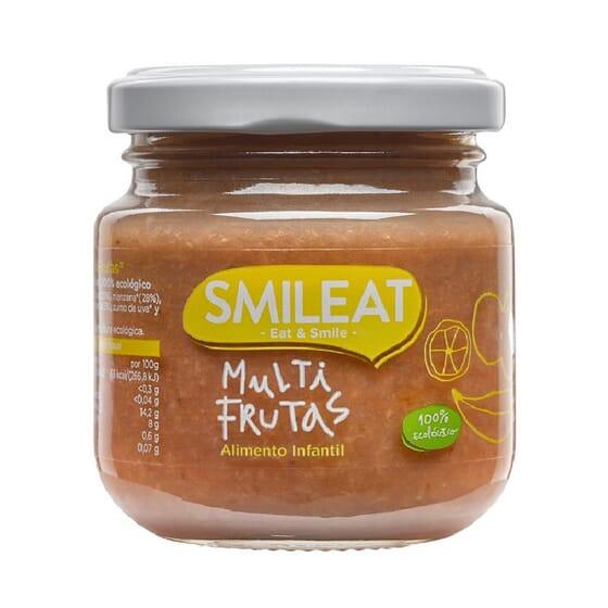 PETIT POT BIOLOGIQUE MULTIFRUITS +4M 130 g de Smileat