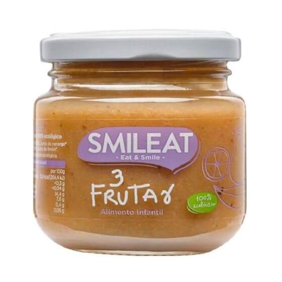 PETIT POT BIOLOGIQUE 3 FRUITS +4M 130 g de Smileat