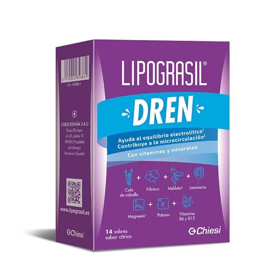 LIPOGRASIL DREN 14 Sachets de 8 g - LIPOGRASIL